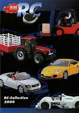 Katalog Dickie RC Collection 2000 Radio Control Modellautos Trucks brochure Auto