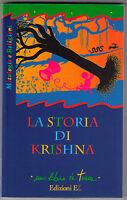 La storia di Krishna - Jacqueline Vallon - Libro nuovo in offerta !