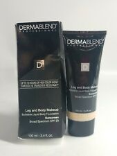 Dermablend Leg and Body Makeup Foundation - Fair Nude 0N - 3.4oz, NEW/SEALED