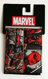 Deadpool Bifold Wallet by Bioworld Red/Grey/Black Marvel