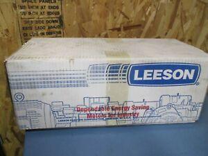 Leeson Permanent Magnet Motor, 90V, 1750RPM, 1/6 HP, TENV ENCL (M1120042.00)