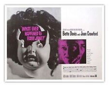 What Ever Happened to Baby Jane (1962) Bette Davis Joan Crawford 12x18 Poster