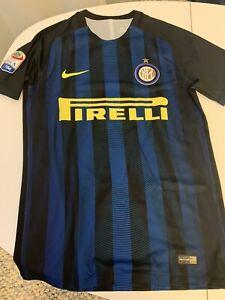 Maillot Porte Inter Milan Maglia Calcio Match Worn Shirt Italia