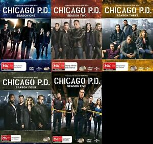 Chicago PD  Complete Series Season 1-5 1 2 3 4 5 New DVD
