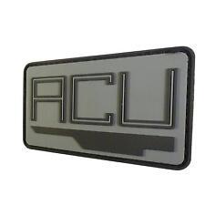 Jurassic World ACU InGen Asset Containment Unit PVC 3D Rubber tag hook patch