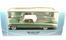Cadillac Superior S & Flower Car 1959 Body Carriage Green White 1/43 Neo 45263