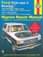 80 81 82 83 84 85 86 87 88 89 90 91 92 93 96 FORD PICK-UPS & BRONCO SHOP MANUAL