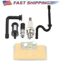 Air Filter + Spark Plug + Fuel Oil Line Filter for Stihl 029 039 MS290 MS310 Saw