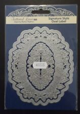 Tattered Lace Signature Style Oval Label Die