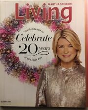 MARTHA STEWART LIVING ~DECEMBER 2010~NUMBER 205~ 20 YEARS OF HOLIDAY JOY~