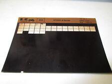 Kawasaki KT250 - A Series Parts List Micro Fiche
