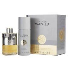 Azzaro Wanted 2pc Gift Set 3.4 oz Cologne + 5.1 oz Deodorant Spray for Men