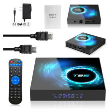 T95 Smart Tv Box 6K Android 10 Quad Core 5G Wifi Hdmi Home Media Player Streamer