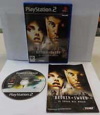 Gioco Game SONY Playstation 2 PS2 PAL Play ITA - BROKEN SWORD IL SONNO DEL DRAGO