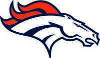 DENVER BRONCOS Vinyl Decal / Sticker ** 5 Sizes **