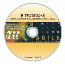 Set of 2 Textbooks PMBOK Guide 6th Edition and Agile Practice Guide On a CD-DISK