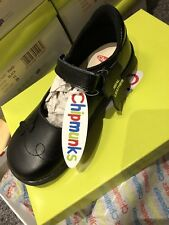 Brand New In Box, Black Chipmunk Size 11 Girls School Shoes. Rrp £35.99