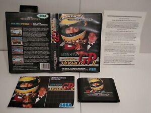 ARTON SENNA'S Super MONACO GP 2 Sega Megadrive -PAL -Très bon état -Complet