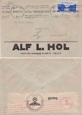 Norway 1940 Cover from Oslo and sent to Berlin. Censored on back there.
