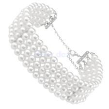 1 Stk. Luxus Damen Perlen Choker Halsband Halskette - Mode Schmuck Geschenk