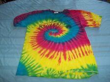 High Lonesome Strings Bluegrass Association tye dye T-Shirt Size M die