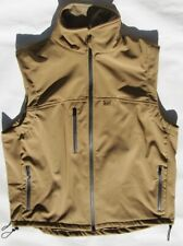 Hard face vest Tan, Size XLarge for military, security, camping, snow sports