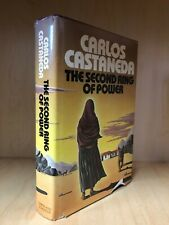 The Second Ring of Power by Carlos Castaneda 1st  HCDJ 1977 Free Shipping!