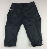 New Nike DRI-FIT Turntwo 3/4 Custom Softball Women's M Anthracite Pant $80