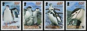 Südgeorgien South Georgia Pinguine WWF 2008 ** 454/57
