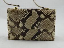 Python Snake Skin Evening Clutch / Bag / Small Purse / Organizer