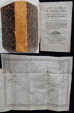 B* Suite du cours de mathématiques..TRAITÉ DE NAVIGATION M.Bézout (Pierres 1789)
