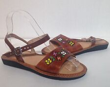 mexican leather sandals huaraches size 3
