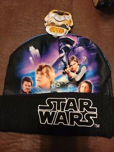 **Star Wars Darth Vader Luke Leia Han Yoda At-at Lando ONE SIZE hat beanie cap**