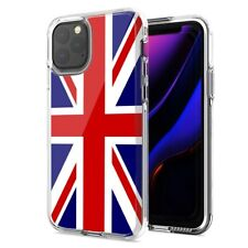 For Apple iPhone 11 UK England British Flag Design Double Layer Phone Case Cover