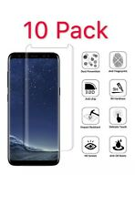 10X Tempered Glass Screen Protector For Samsung Galaxy S8 S9 N8 N9 Case Friendly