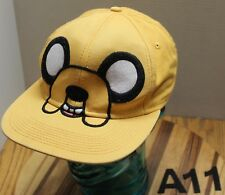 "CARTOON NETWORK ""JAKE"" HAT YELLOW SNAPBACK ADJUSTABLE VERY GOOD CONDITION A11"