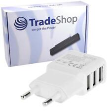 Mehrfach Ladegerät mit 3 Anschlüssen für alle USB Geräte ULTRA SLIM Netzteil