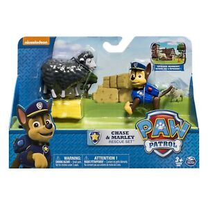 Paw Patrol Set Figure Chase & Marley Rescue Playset Spin Master Figures Action