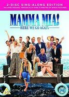 Mamma Mia! Here We Go Again DVD 2018 Sequel 2-Disc Sing-Along Edition New Sealed