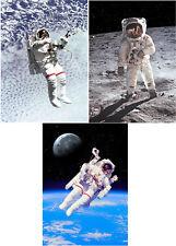 Spacewalking - 3 3D Lenticular Postcard Greeting Cards
