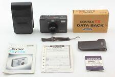 【Near MINT w/ Data Back】Contax T3 Titanium Black 35mm Film Camera from JAPAN 362