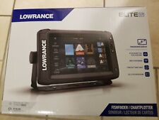 Lowrance Elite 9 in Ti2 Active Imaging 3-in-1 Gps Fish Finder/Chartplotter