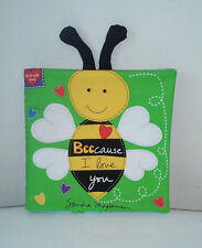 Beecause I Love You - Soft Cloth Books for Children, Baby, Girls, Boys, Child