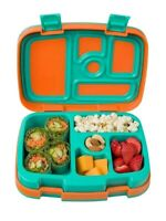 Bentgo Kids Childrens Lunch Box Bento-Styled Lunch Durable and Leak Proof Orange