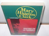 testigo en la sombra - higgins clark -  dvd