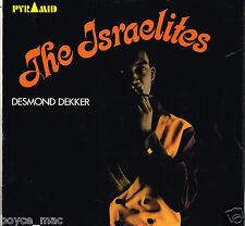 pyramid LP : DESMOND DEKKER-the israelites    (hear)  (a-side label misspelled)