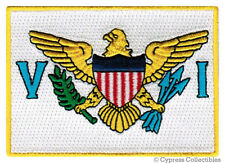 US VIRGIN ISLANDS FLAG embroidered iron-on PATCH EMBLEM applique SOUVENIR new