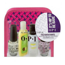 OPI Top Coat + Base Coat, Remover, Lotion, Toe Separator & Mini Bag