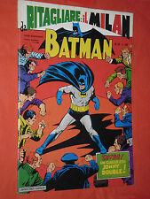 BATMAN -ALBI MONDADORI  N°50  -a-DEL 1967 / 70 +completo con il milan del 1969