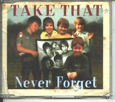 take that -never forget  + live  cd single